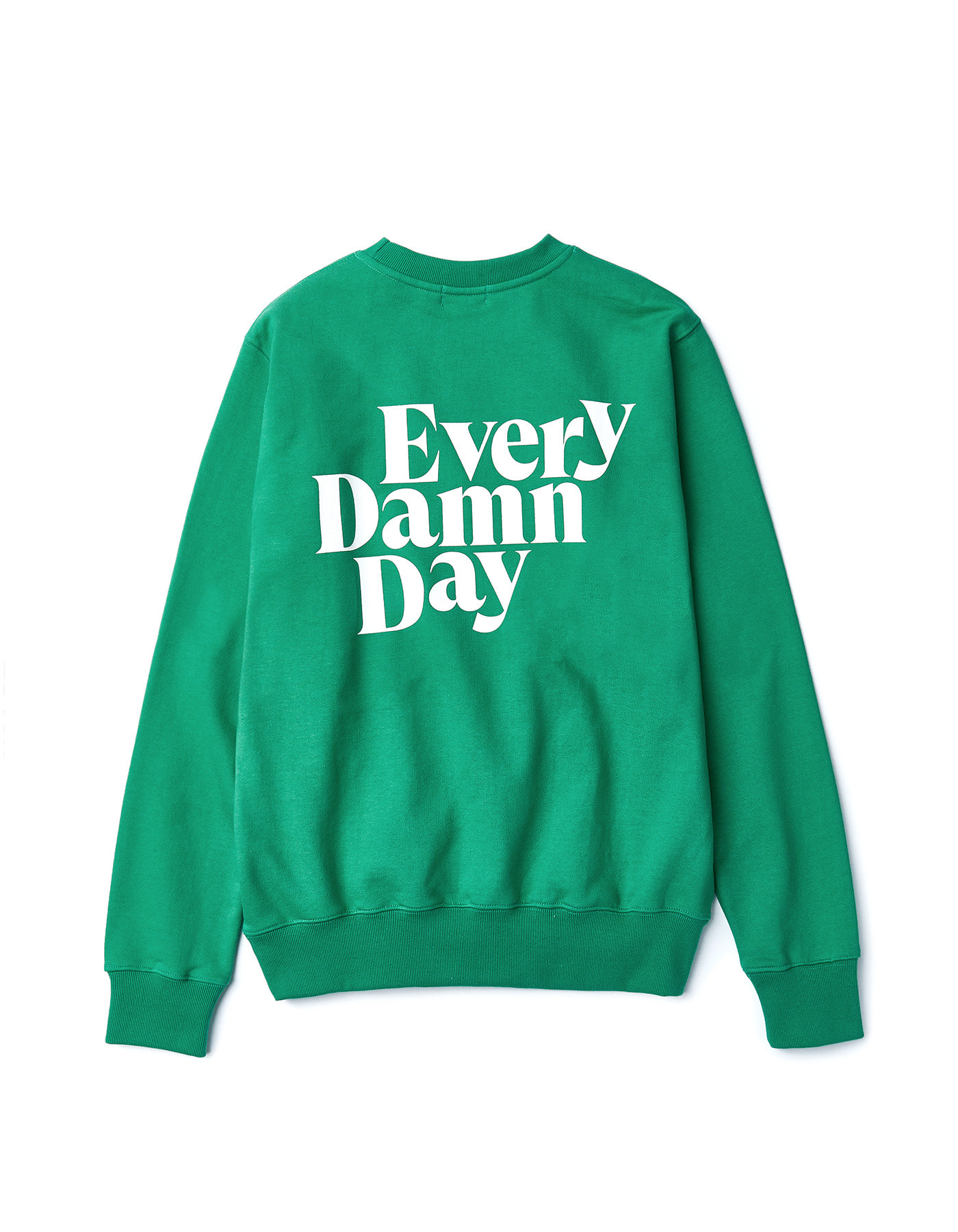 Every Damn Day Crewneck - Green
