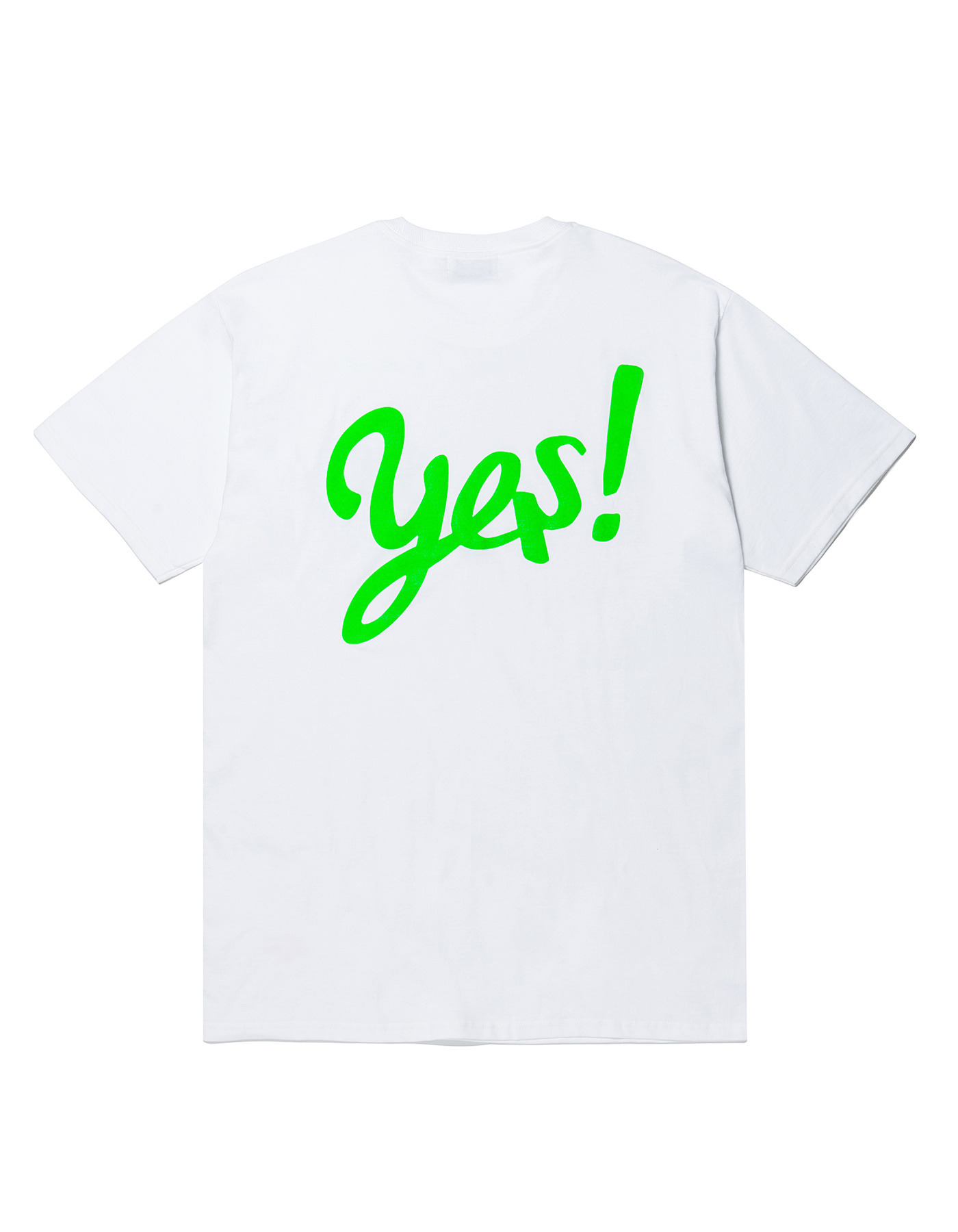 YES! T-shirts - White/Green